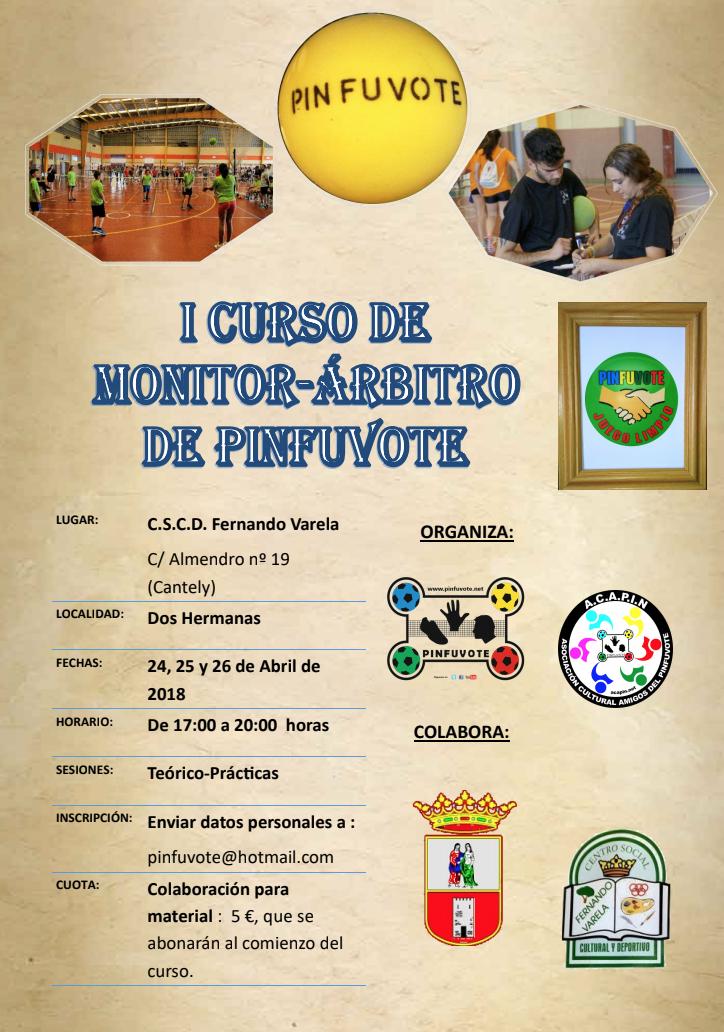 Primer curso monitor / árbitro de Pinfuvote